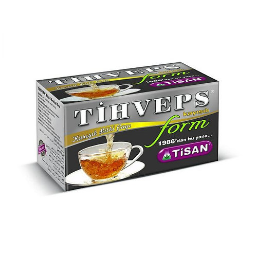 Tihaks Kayısılı Form Çay