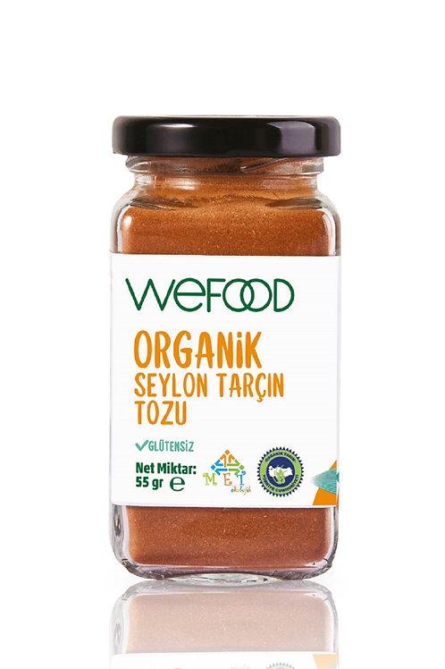Wefood Organik Seylon Tarçın Toz 55gr