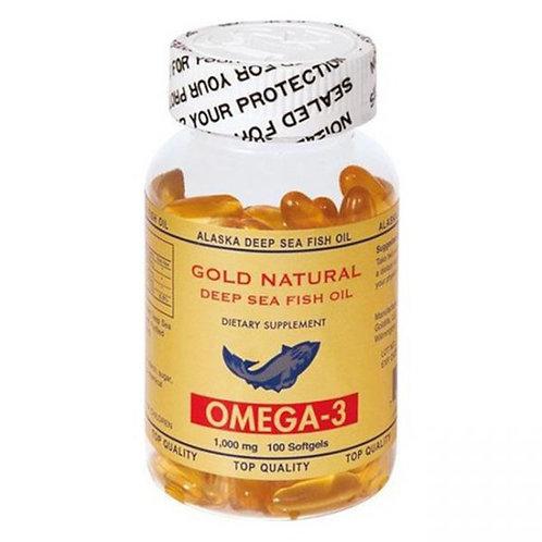 Gold Natural Omega 3 (100 Softgel)