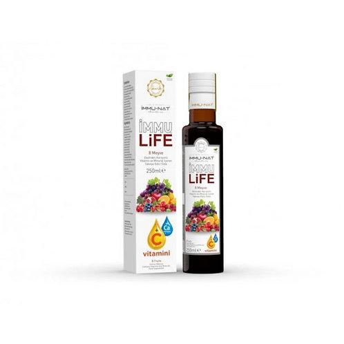 İmmunat İmmu Life 8 Meyve Karışımlı Ekstrakt 250ml