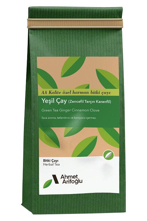 Ahmet Arifoğlu Yeşil Çay Zencefil Tarçın Karanfil 235 gr