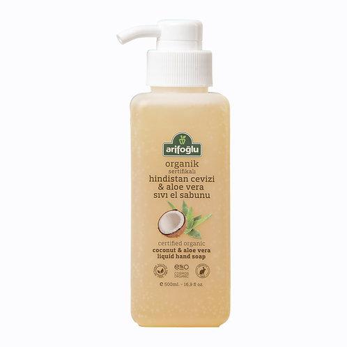 Hindistan Cevizi & Aloe Vera Sıvı El Sabunu 500ML