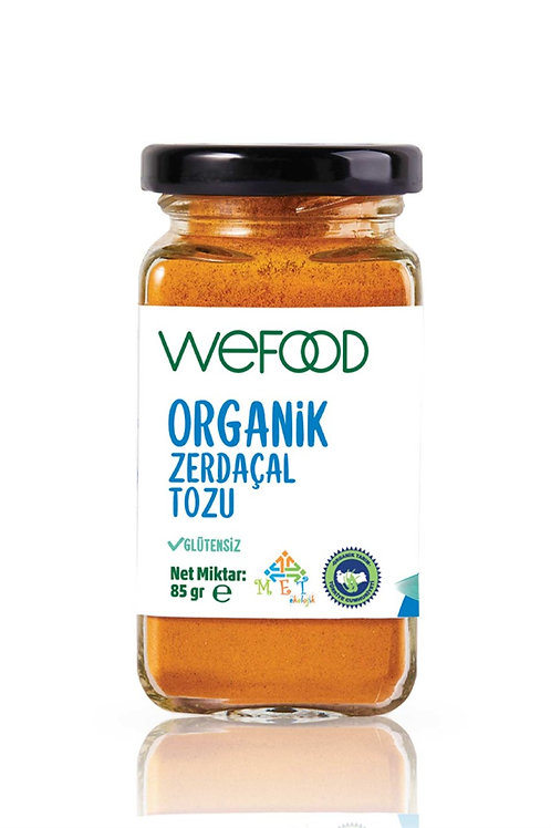Wefood Organik Zerdeçal Tozu 85gr