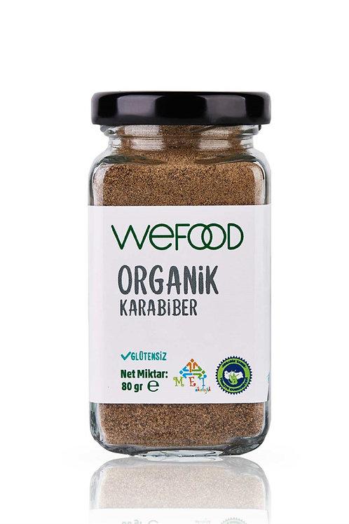 Wefood Organik Karabiber Tozu 80gr