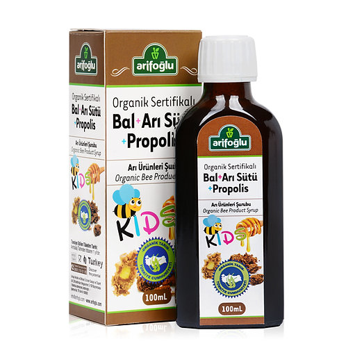 Arifoğlu Organik Bal Arı Sütü Propolis For Kids 100ml