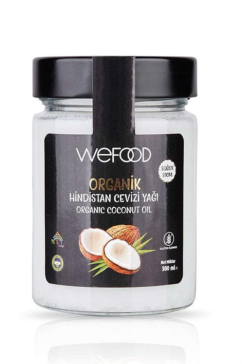 Wefood Organik Hindistan Cevizi Yağı 300ml