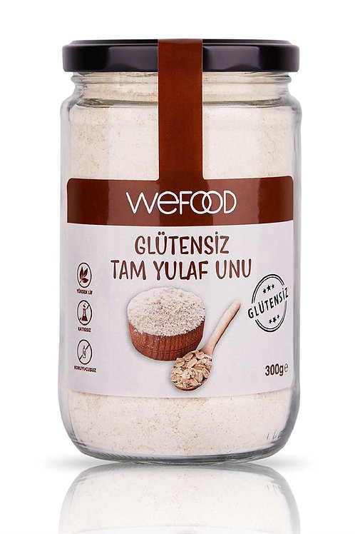 Wefood Glütensiz Tam Yulaf Unu 300gr