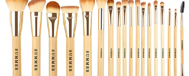 SUMMER brush collection