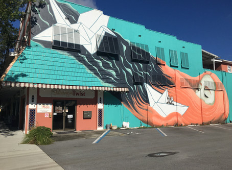 St. Pete Dreams Big with New Mural @Clear Labs