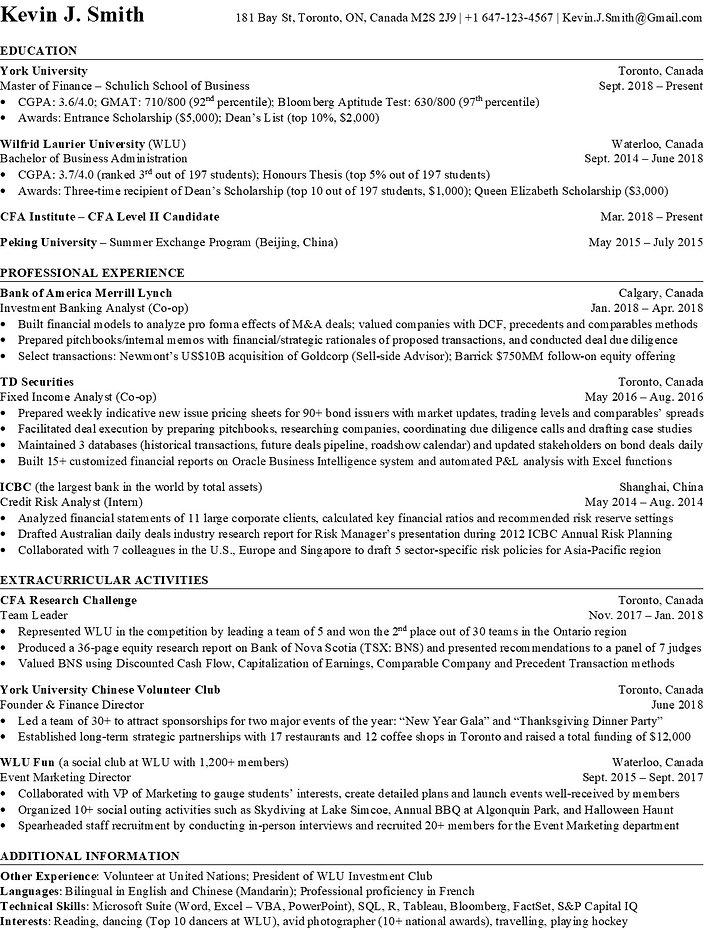 Resume Template Screenshot - 20200623 JP