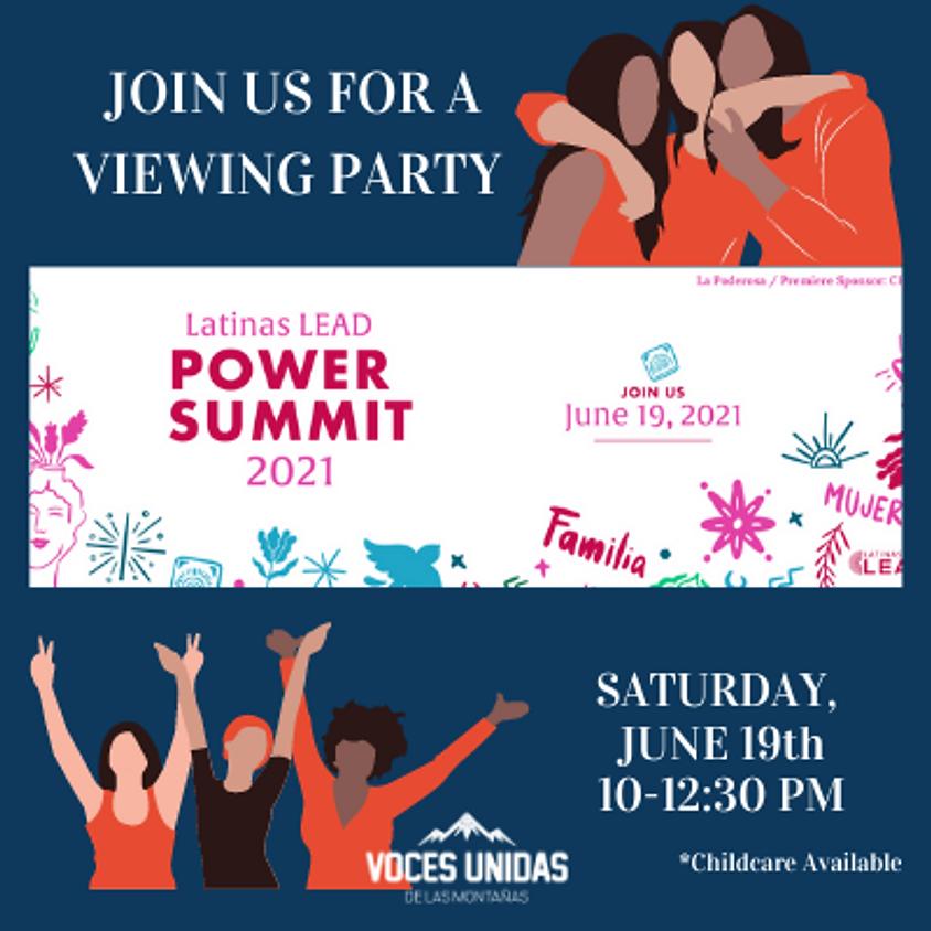 Voces Unidas Viewing Party: Latinas LEAD Power Summit