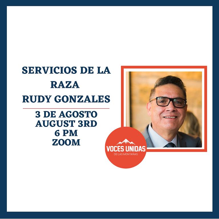 Charla con Rudy Gonzales