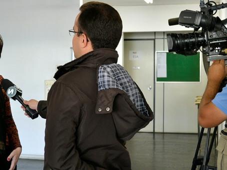 Entrevista para a TV Record
