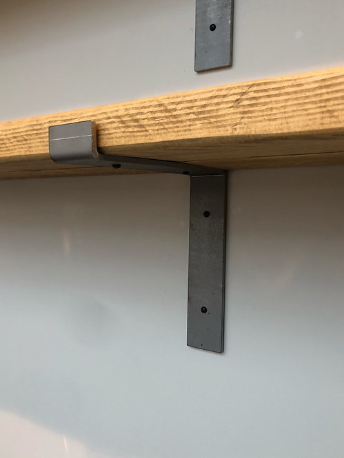 Industrial shelf brackets - 22.5cm deep