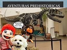 Pipo y Fede en LAS PISTAS DE UMA-dinosau