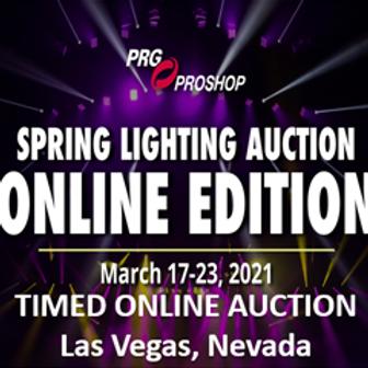 PROFESSIONAL LIGHTING & POWER DISTRIBUTION EQUIPMENT - PRG Las Vegas