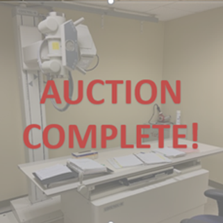 (2) X-Ray Machines -Bank Ordered Sale-