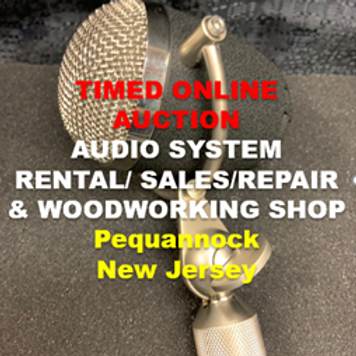 Audio Systems Rental / Sales / Repair with Woodworking Shop
