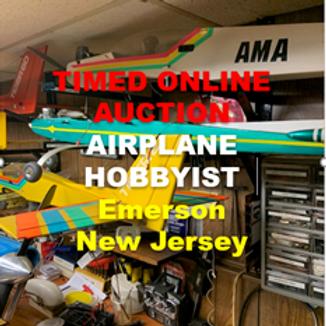 Airplane Hobbyist - Model Aeronautics - Estate of John Holter