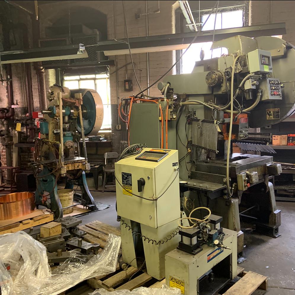 Machine Shop / Stamping Presses | Caspert-Auctioneers