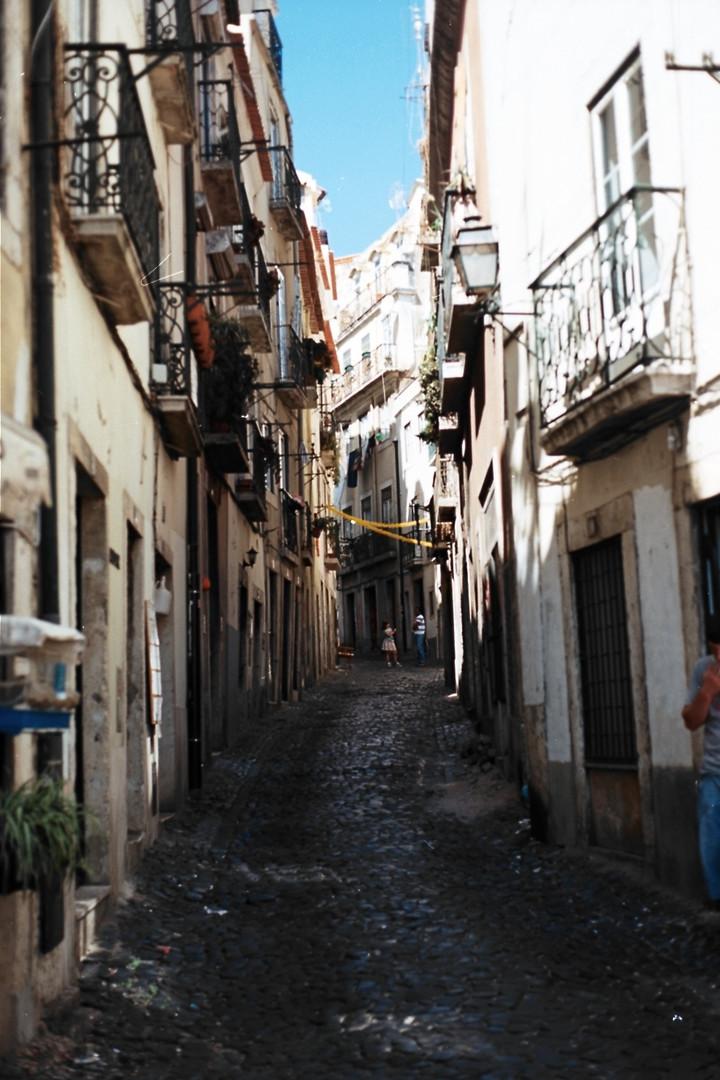 Street in Lisbon, Portugal..jpg