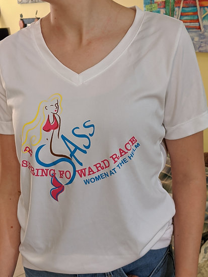 Ladies Short-sleeve T-shirt (Spring Foward)