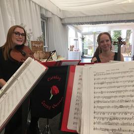 Happy colleagues #stringquartet #wedding #livemusic #violafriend #cellofriend