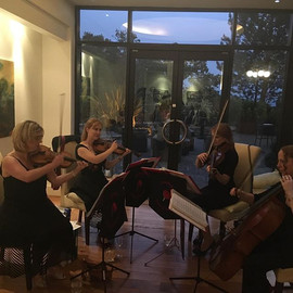 Great evening entertaining _thecelticmanor #stringquartet #livemusic #functions
