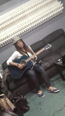 Karees Learning Guitar