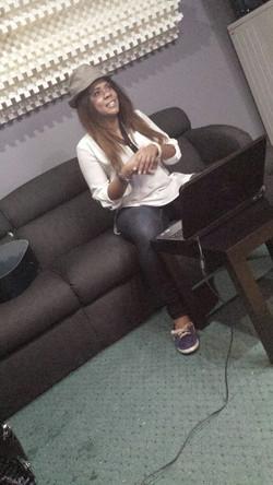 Karees In studio