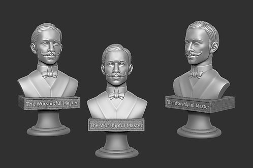 Set of 6 3D printed characters to use in the game