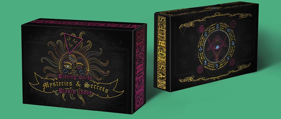 Full 108 card deck -  8 Suit Deck Mysteries & Secrets 1st & 2nd Editions