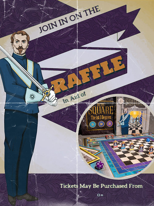 On The Square (Lodge Raffle) Poster