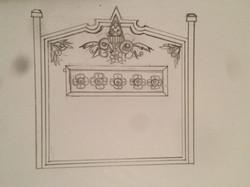 Headboard sketches version 2