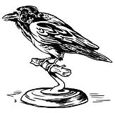 crow on pedestal.jpg