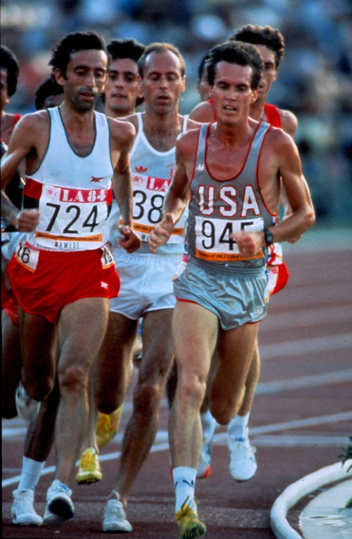 LA+Olympic+Games+10,000+meter+semi-final-Aug+1984