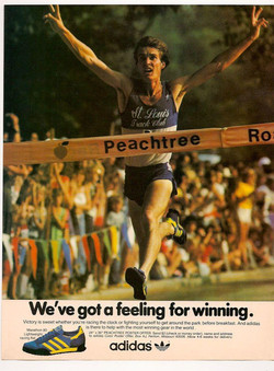 Peachtree adidas poster