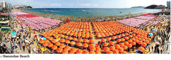 海雲台 海水浴場(へウンデ ビーチ)