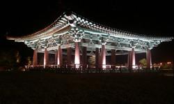 慶州 東宮 月池の夜景
