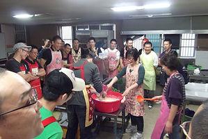 キムチ作り方を体験する