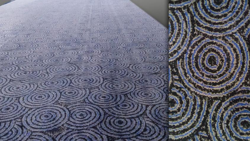 carpete customizado para cinema