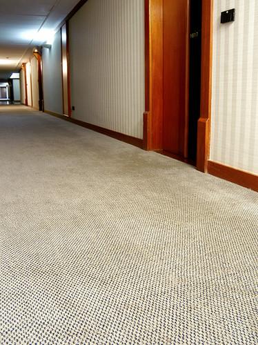 Carpete Customizado Corredor de Hotel