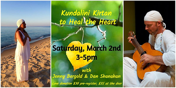 Kundalini Kirtan to Heal the Heart