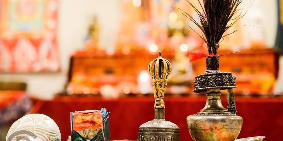 Sound Healing Meditation with Lama Lobsang Palden