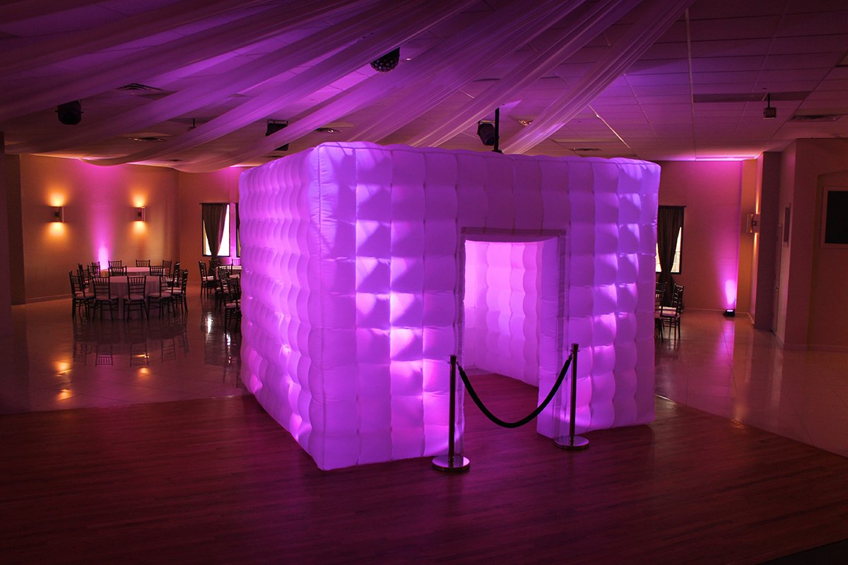 LED Photobooth CUBE