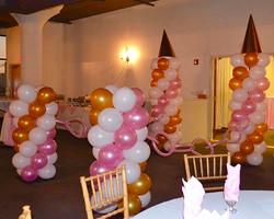 Draw Bridge Balloon Set-up