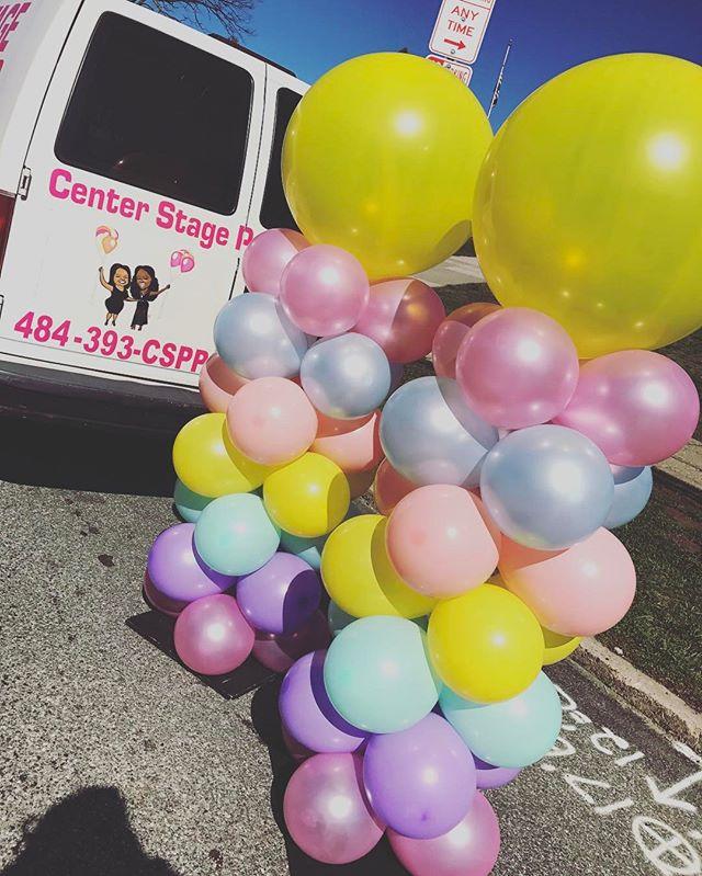 3FT Balloon Column