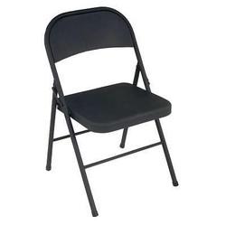 Matte Black Folding Chair