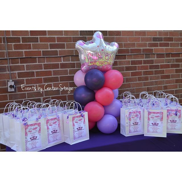 Table Top Balloon Column