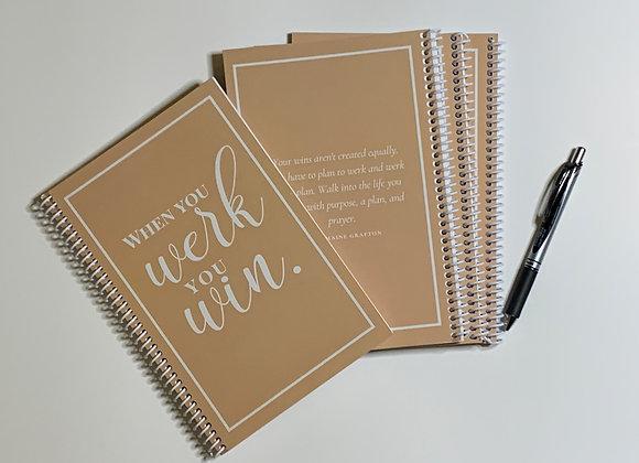The Werk & Win Journal Bundle